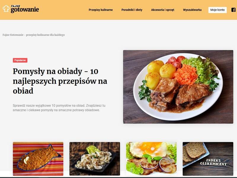 Przepisy kulinarne, porady oraz akcesoria kuchenne