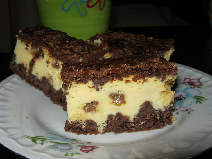 Sernik w cie�cie kakaowym